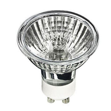 halogen light bulb progress lighting 50 watt halogen mr16 gu10 medium flood