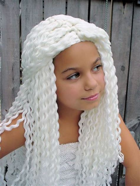 crochet wigshats  hair images  pinterest