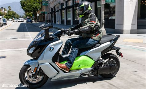 Bmw C Evolution Electric Motorcycle by 2018 Bmw C Evolution Electric Scooter Review Motorcycle