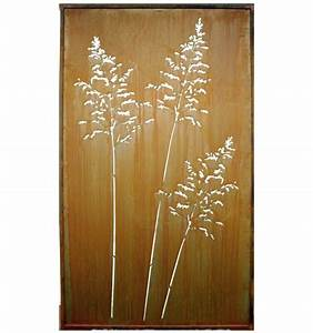 Paravent 200 Cm Hoch : gras paravent 100 x 200 cm metallmichl ~ Bigdaddyawards.com Haus und Dekorationen