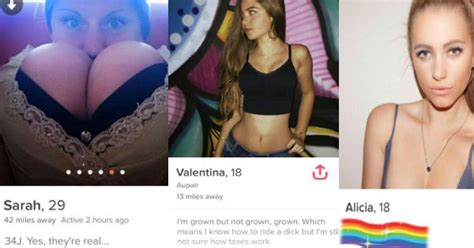 30 Tinder Profiles That Did Way With Small Talk, And Were Shamelessly Slutty - FAIL Blog - Fail ...