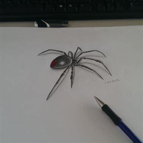 drawn spider  design pencil   color drawn spider  design