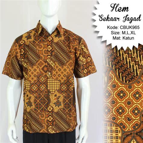 Kalung Batik Sekar We02 kemeja batik pendek motif sekar jagad kemeja lengan