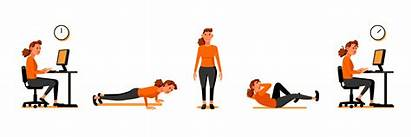 Exercise Clipart Energy Animated Cardio Calories Lifting