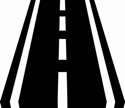 Highway Route Clipart Icon Road Svg Street