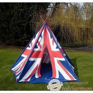 Tente Enfant Tipi : tipi tente pour enfant drapeau anglais the old basket 21764 de jouet bio et nature ~ Teatrodelosmanantiales.com Idées de Décoration