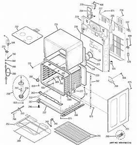 Ge Pb975dp3bb Electric Range Parts