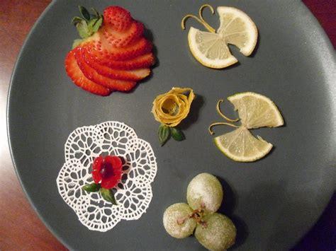 garnish  plate simple dessert garnishes