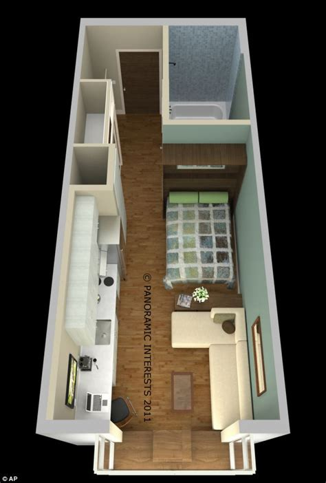 micro apartment living the tiny 300sq ft apartments that could be coming soon to san francisco that are almost as