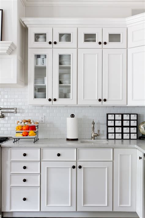 Brick Groin Vault Ceiling by Brick Backsplash Tiles Kitchen Traditional With Beige