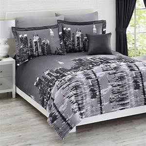new york city themed skyline comforters sets bedding and With bed linens nyc