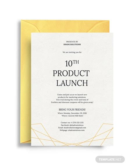 29+ Best Business Invitations PSD AI Vector EPS