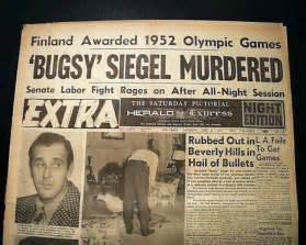 "Image result for ""Bugsy"" Siegel was murdered"