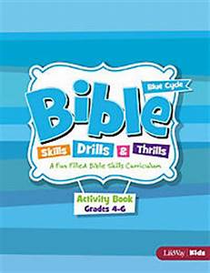 Bible Skills, Drills, & Thrills: Blue Cycle - Grades 4-6 ...