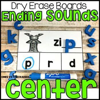sounds dry erase board center  cvc words