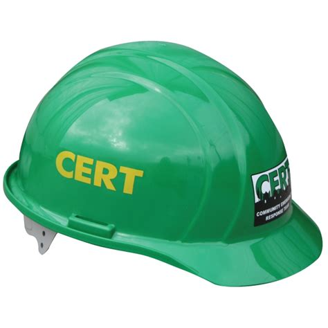 cert hard hat  fema logo