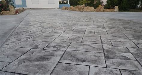 beton imprime ideal decor prix   lusage du sol