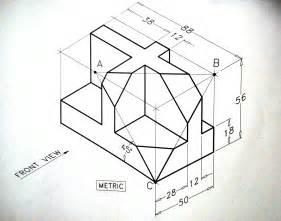 AutoCAD Isometric Drawing