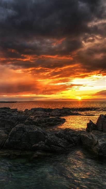Iphone Ireland Wallpapers Beach Sea Sunset Fun