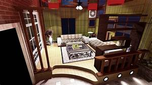 Indian living room interior design picture for Interior decoration of living room india