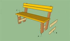 Free Garden Bench Plans Howtospecialist How To Build Step
