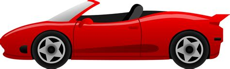 Race Car Cartoon Side View