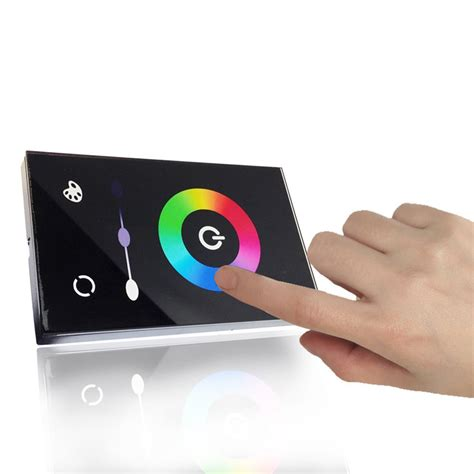 epbowpt dc 12 24v wall mounted glass touch panel
