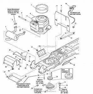 Simplicity 1693970 - Baron  18hp Hydro And 40 U0026quot  Mower Deck Parts Diagram For Engine Group
