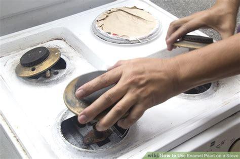 enamel paint   stove  steps  pictures