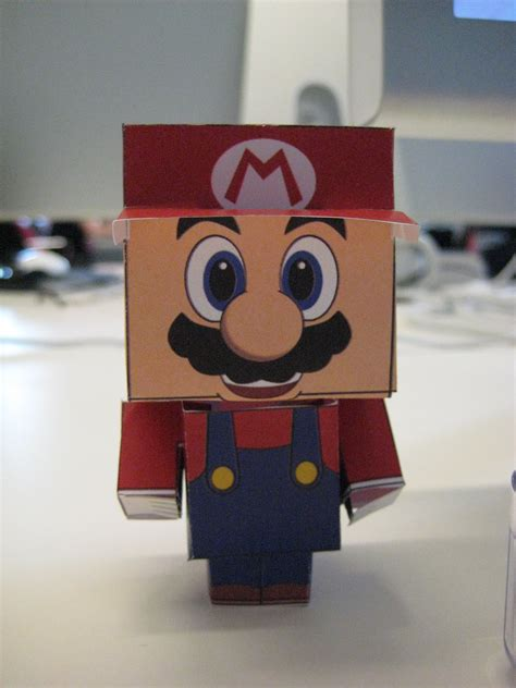 Cubeecraft Website Provides Templates To Print Out And Put