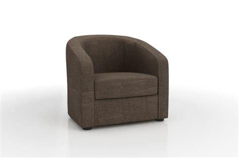 canapé convertible 120 cm fauteuil cabriolet ponza en tissu