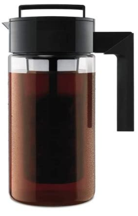The takeya cold brew coffee maker is priced at $19.99. Takeya Deluxe Cold Brew Iced Coffee Maker, 1 Quart - $15.99 (reg. $19.99), Best price