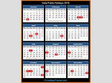 India Public Holidays 2016 – Holidays Tracker
