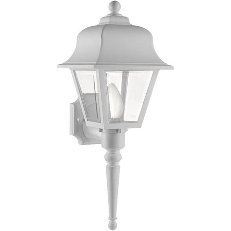 newport coastal liberty white outdoor wall mount lantern