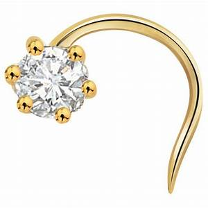 Diamond nose pin | solitaire nose pin | Pinterest