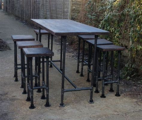 steel pipe furniture diy
