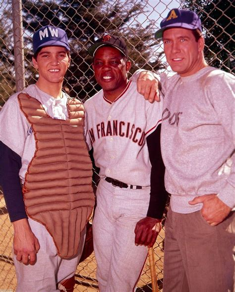 Paul Petersen Willie Mays And Carl Betz The Donna Reed
