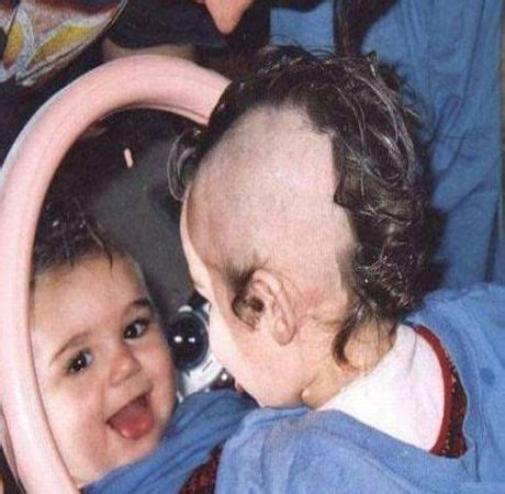 Funny Pictures   Punk Baby Haircut