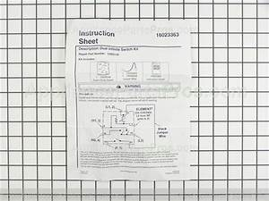 Whirlpool 12002125 Inf Switch Kit   Dual