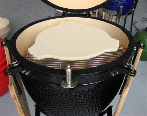 professional grill ceramic plate parts ceramic heat deflector plate setter  kamado bbq grill