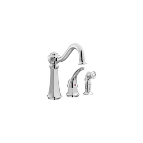 Vestige Kitchen Faucet by 7065 7065 Vestige Single Handle Chrome Kitchen Faucet