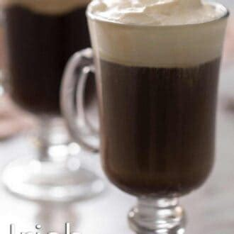 We recommend it for those looking for a great cup of coffee for those who can't quite take the strong effects of caffeine, nescafé taster's choice is one of the best decaf instant coffees on the market. Irish Coffee - Preppy Kitchen