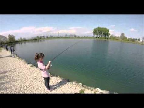 Scuola pesca Spinning 2016 lago Fipsas San Pietro in Gu