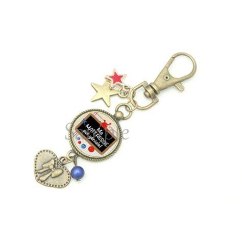 idee cadeau maitresse bijoux personnalis 233 s porte cl 233
