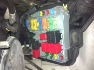 Peugeot 407 Fuse Box Diagram