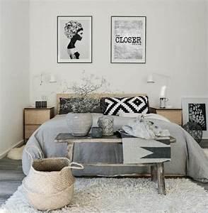 Lit Bébé Bois Et Blanc : 1001 id es pour une chambre scandinave styl e ~ Teatrodelosmanantiales.com Idées de Décoration