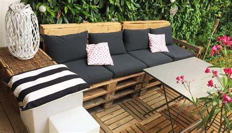 salon de jardin palette dunlopillo diy déco salon de jardin en palettes rapide facile