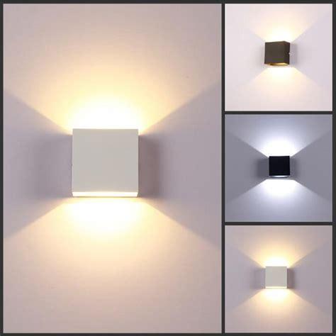 6w modern led wall light bedroom spot lighting up down