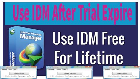 Download internet download manager for windows now from softonic: IDM Trial Reset - How To Reset & Use IDM Trial Version ...
