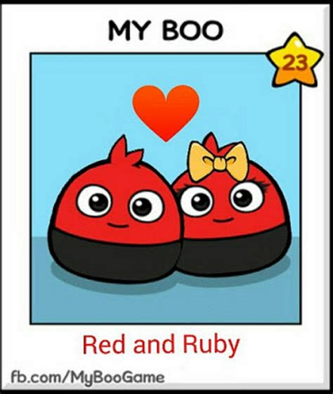 Red And Ruby As Boos In My Boo Game By
